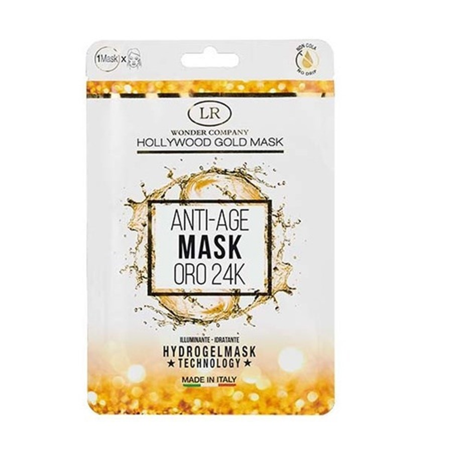Hollywood Gold Mask Oro 24K Illuminante Idratante