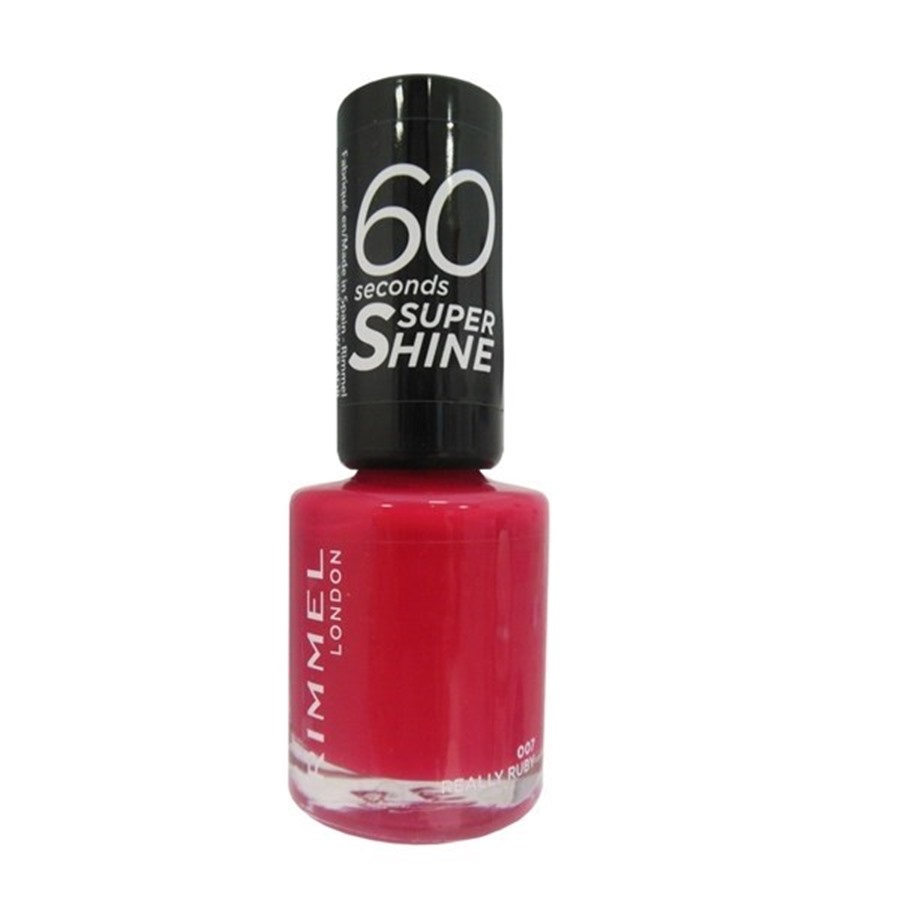 Rimmel London Super Shine 60'' Smalto 007 Really Ruby