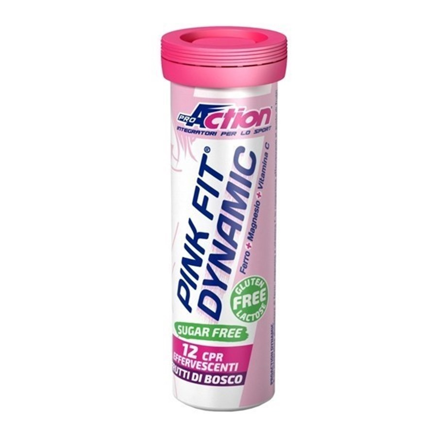 ProAction Pink Fit Dynamic 12 Compresse Capsule Effervescenti